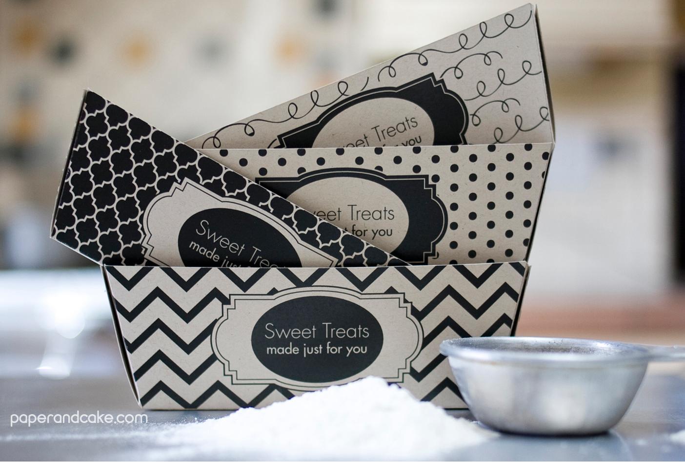 Sweet Treats Printable Baking Supplies