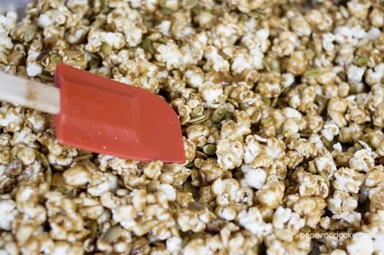toss popcorn