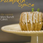 My Favorite Recipes from Paper & Cake Easy Pumpkin Spice Mini Bundt Cakes