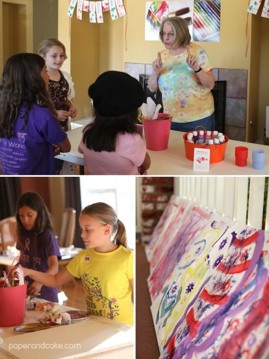 Paper & Cake   Art Party Printable Birthday