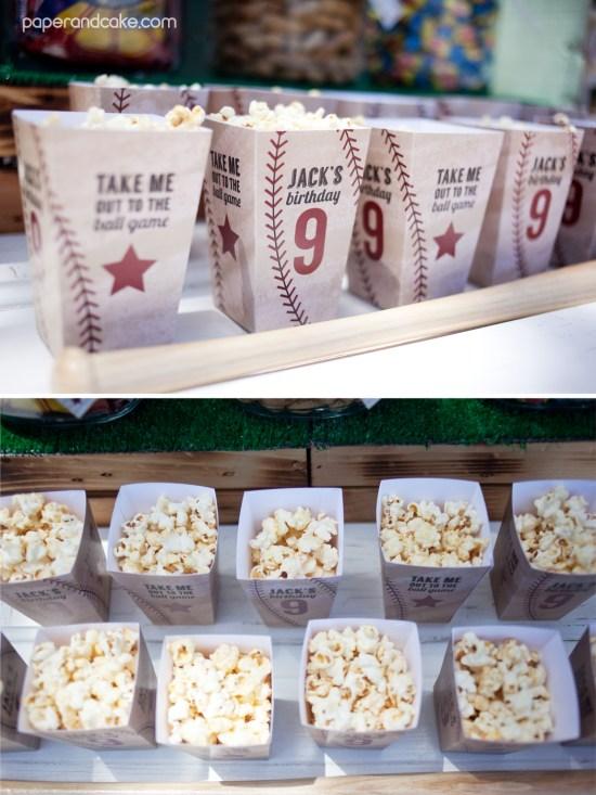 baseball birthday party decorations and invitation
