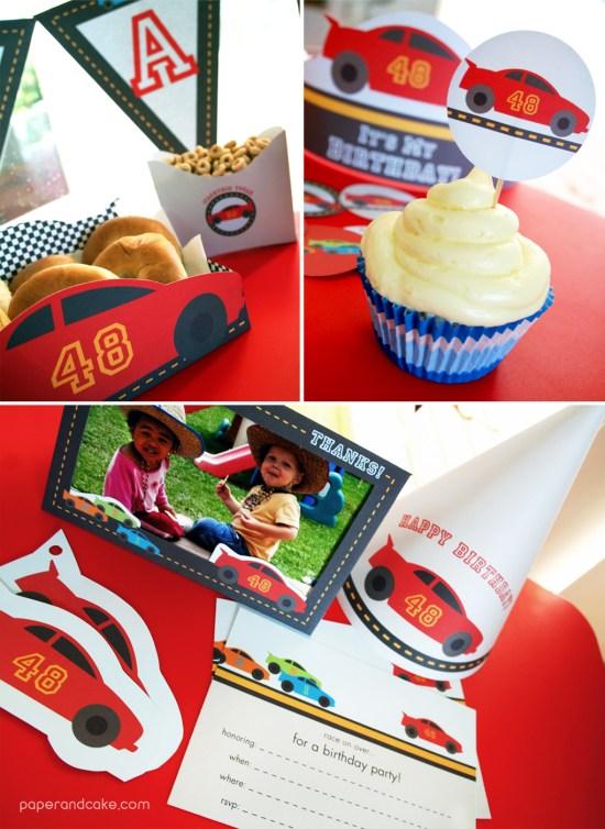 transportation birthday party ideas