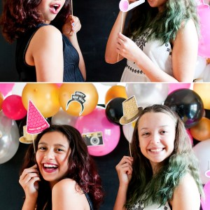 NYE printable photo booth props