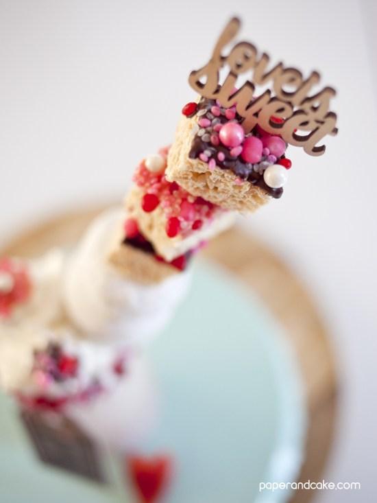 strawberry milkshake for valentines day