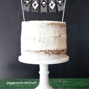 wicked halloween cake topper