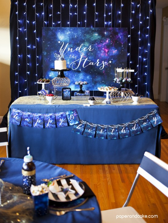 printable galaxy birthday party