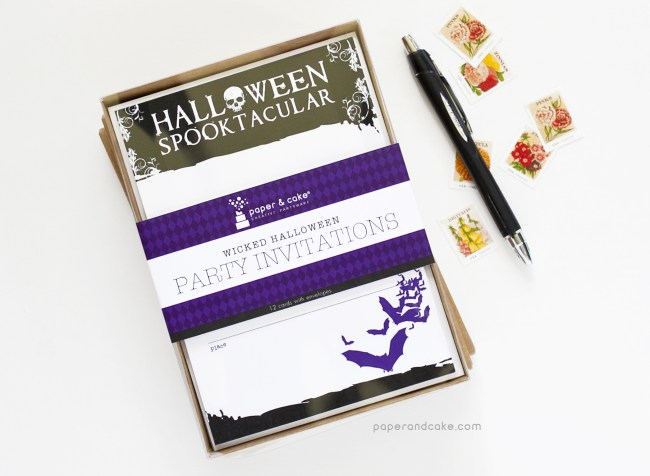Wicked Halloween Fill-In Invitations