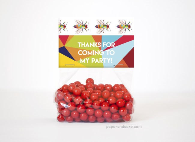 Bugs Party Favor Kit for 12
