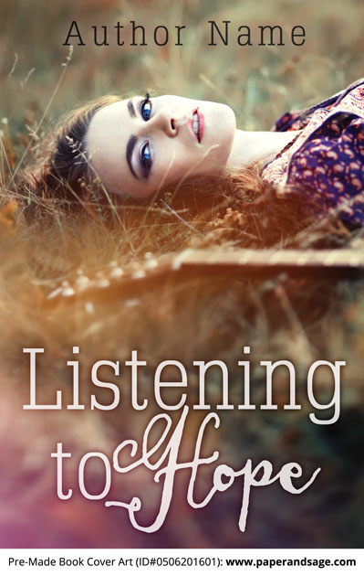 Pre-Made Book Cover ID#0506201601 (Listening to Hope)