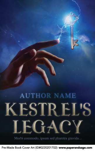 Pre-Made Book Cover ID#0220201702 (Kestrel's Legacy)