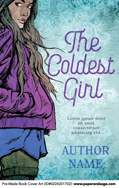 Pre-Made Book Cover ID#0224201702 (The Coldest Girl)