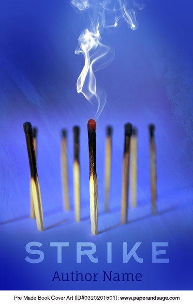 Pre-Made Book Cover ID#0320201501 (Strike)