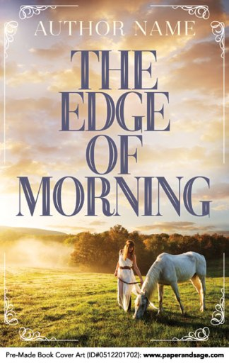 Pre-Made Book Cover ID#0512201702 (The Edge of Morning)