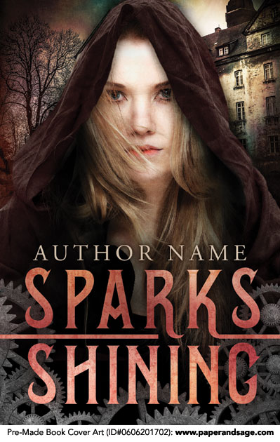 Pre-Made Book Cover ID#0606201702 (Sparks Shining)