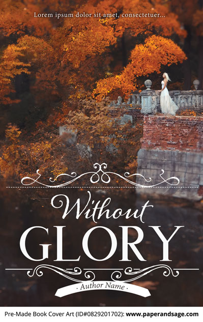 Pre-Made Book Cover ID#0829201702 (Without Glory)