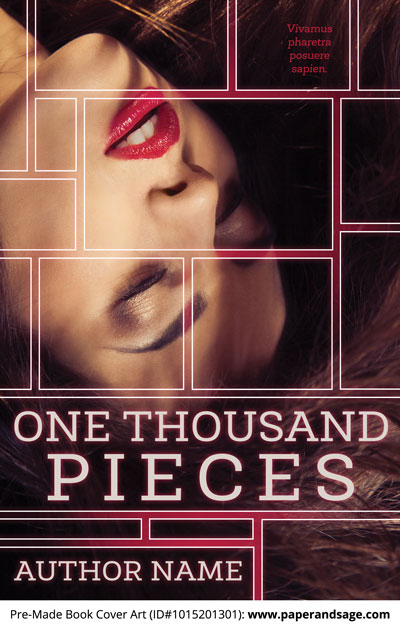 Pre-Made Book Cover ID#1015201301 (One Thousand Pieces)