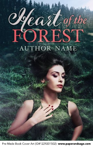 Pre-Made Book Cover ID#1229201502 (Heart of the Forest)