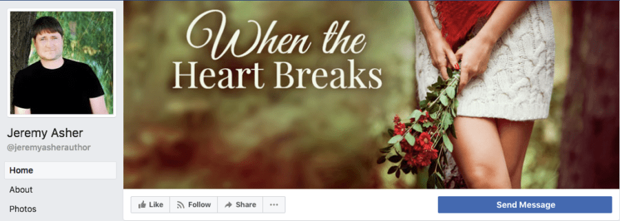 Add-On Example: Facebook Header for When the Heart Breaks