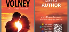 Add-On Example: Dana Volney Business Cards (Front & Back, 3.5×2″)