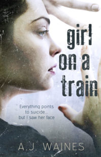 Book Cover for Girl on a Train by AJ Waines
