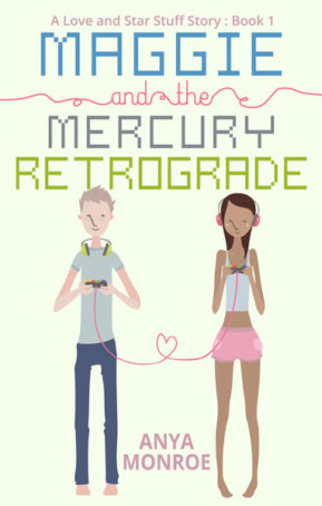 Book Cover for Maggie and the Mercury Retrograde by Anya Monroe