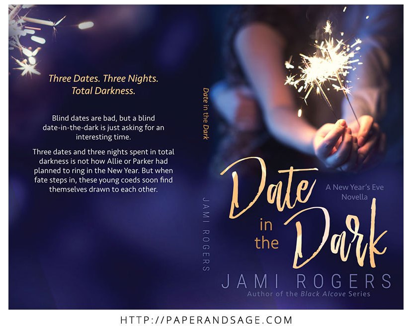 Print layout for Date in the Dark by Jami Rogers