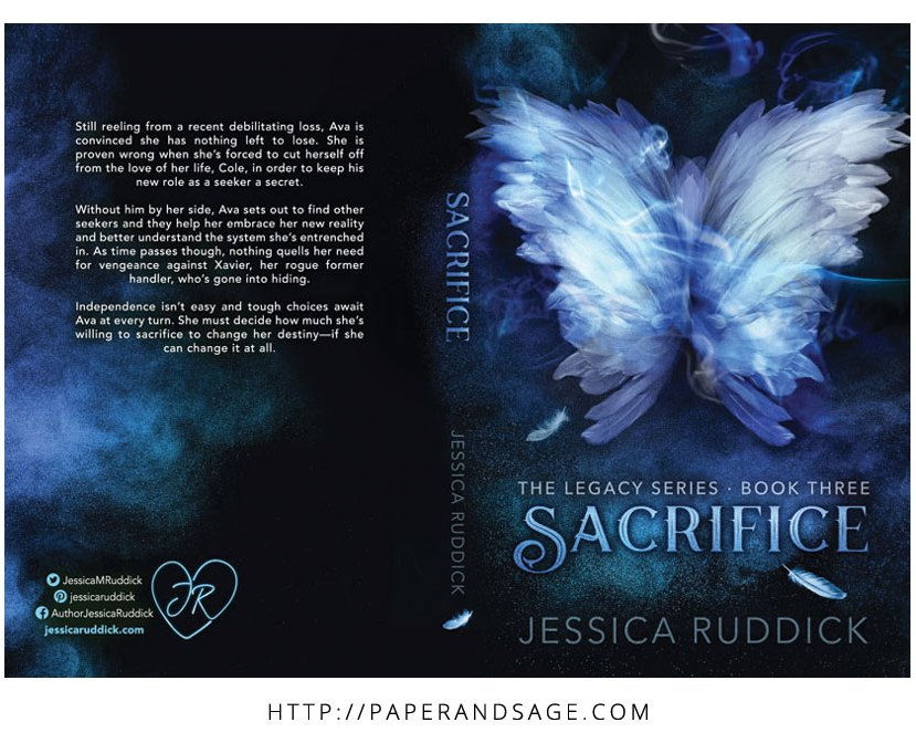 Print layout for Sacrifice by Jessica Ruddick