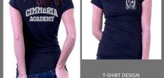 Add-On Example: Cimmeria Academy Shirt