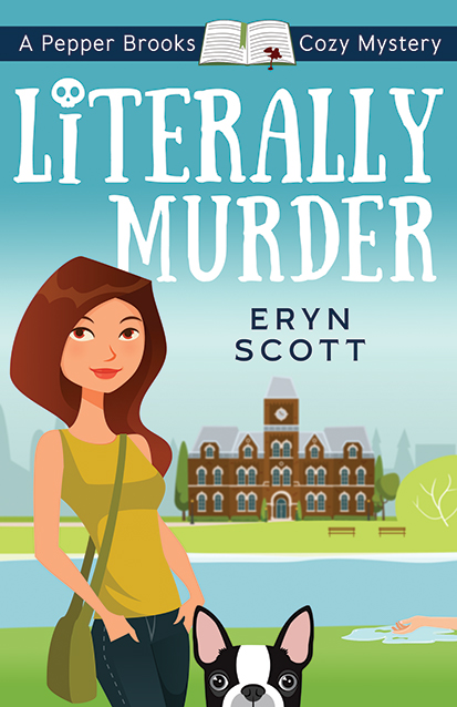 Book Cover for Literally Murder by Eryn Scott
