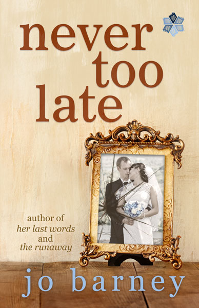 Book Cover for Never Too Late by Jo Barney