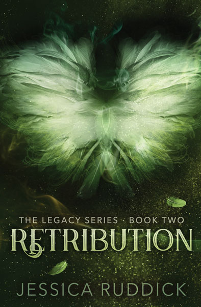 Book Cover for Retribution by Jessica Ruddick