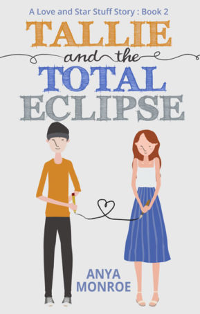 Book Cover for Tallie and the Total Eclipse by Anya Monroe