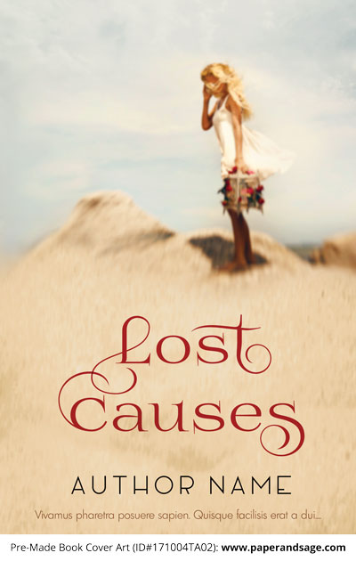 Pre-Made Book Cover ID#171004TA02 (Lost Causes)