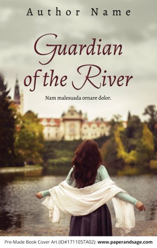 Pre-Made Book Cover ID#171105TA02 (Guardian of the River)