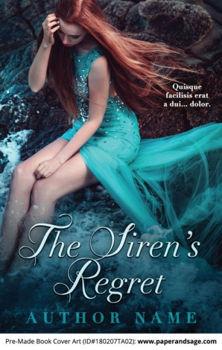 Pre-Made Book Cover ID#180207TA02 (The Siren's Regret)