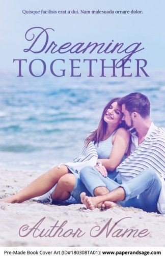 Pre-Made Book Cover ID#180308TA01 (Dreaming Together)