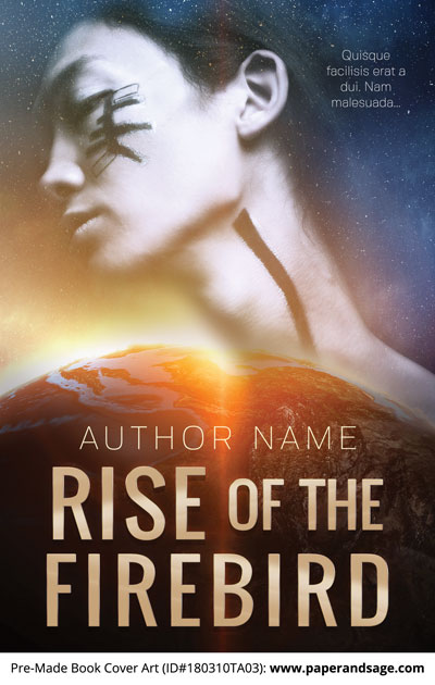 Pre-Made Book Cover ID#180310TA03 (Rise of the Firebird)