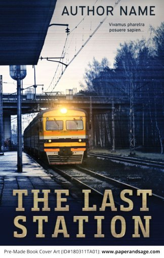 Pre-Made Book Cover ID#180311TA01 (The Last Station)