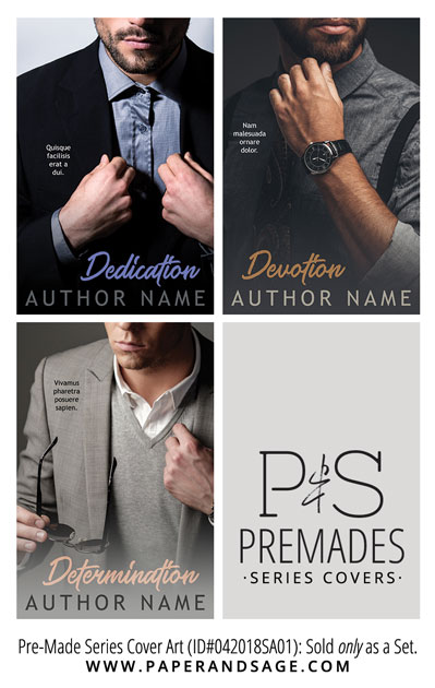 PreMade Series Covers ID#042018SA01 (Dedication Series, Only Sold as a Set)