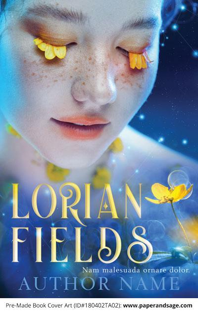 Pre-Made Book Cover ID#180402TA02 (Lorian Fields)
