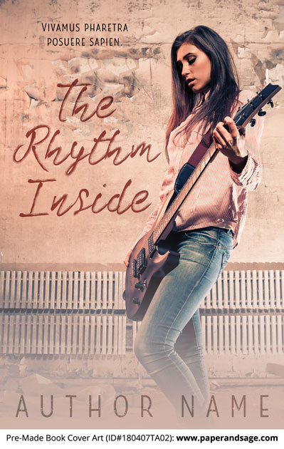 Pre-Made Book Cover ID#180407TA02 (The Rhythm Inside)
