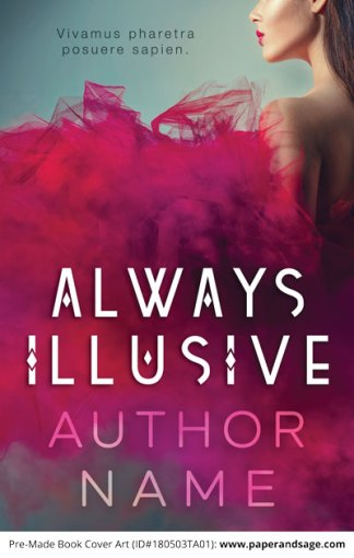 Pre-Made Book Cover ID#180503TA01 (Always Illusive)