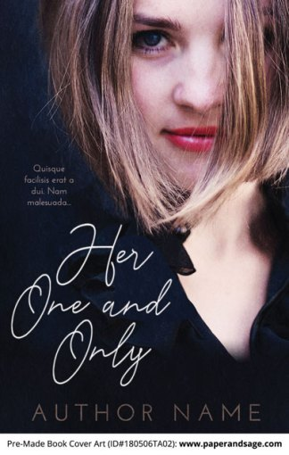 Pre-Made Book Cover ID#180506TA02 (Her One and Only)