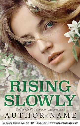 Pre-Made Book Cover ID#180509TA01 (Rising Slowly)