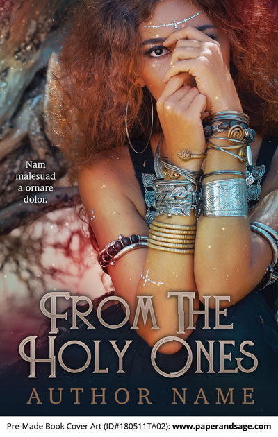 Pre-Made Book Cover ID#180511TA02 (From the Holy Ones)