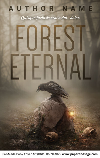 Pre-Made Book Cover ID#180609TA02 (Forest Eternal)