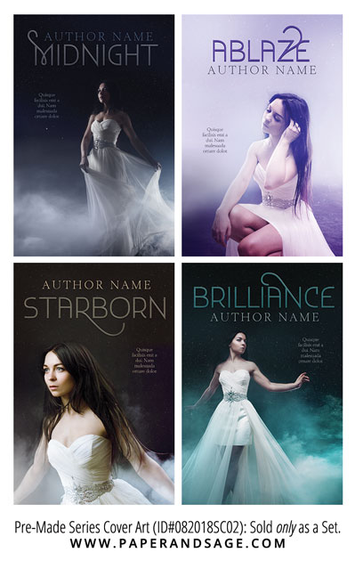 PreMade Series Covers ID#082018SC02 (Starborn Series, Only Sold as a Set)