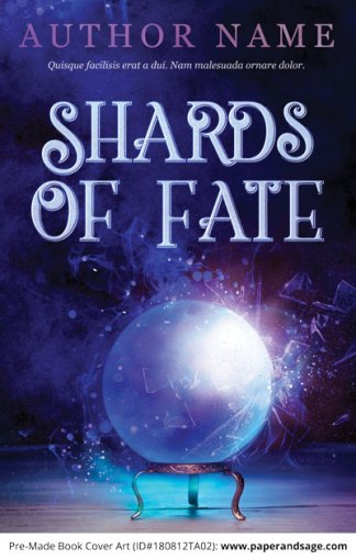 Pre-Made Book Cover ID#180812TA02 (Shards of Fate)