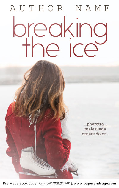 Pre-Made Book Cover ID#180828TA01 (Breaking the Ice)