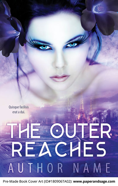Pre-Made Book Cover ID#180906TA02 (The Outer Reaches)